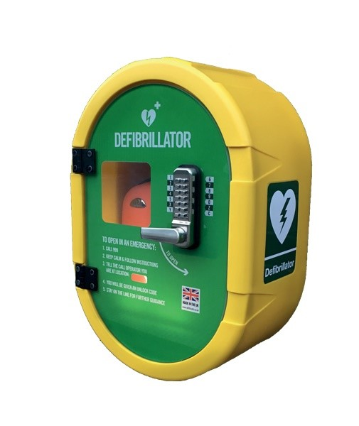 New Defibrillator for the Scalebor Pavilion