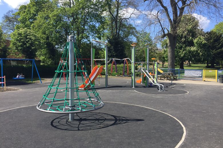 Play Equipment in Grange Park reopens